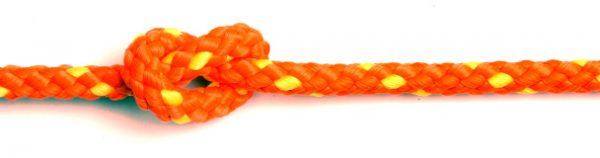 floatline 10mm orange with yellow flecks
