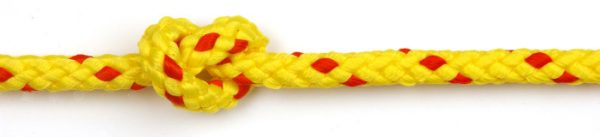 Floatline 8mm Yellow with red flecks