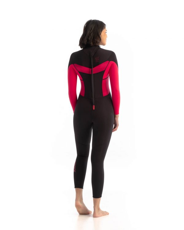 Jobe Sofia Hot Pink 3/2mm Wetsuit Back View