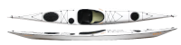 Zegul Greenland GT kayak in White and Black