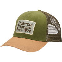 Marmot Retro Trucker Hat in Corduroy Scotch